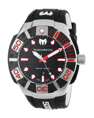 テクノマリーン 腕時計 メンズ 【送料無料】TechnoMarine Men's 513002 Black Reef Watchテクノマリーン 腕時計 メンズ