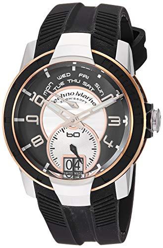 腕時計 テクノマリーン メンズ 【送料無料】TechnoMarine UF6 Retrograde Mens Watch # UFR02G腕時計 テクノマリーン メンズ