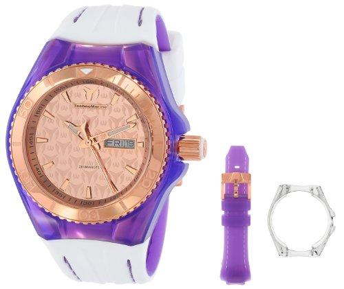 テクノマリーン 腕時計 レディース 【送料無料】TechnoMarine Unisex 113036 Analog Display Quartz White Watchテクノマリーン 腕時計 レディース