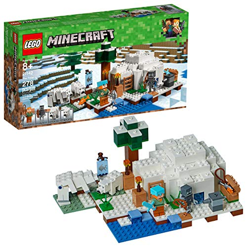 レゴ マインクラフト 【送料無料】LEGO Minecraft The Polar Igloo 21142 Building Kit (278 Piece) (Renewed)レゴ マインクラフト