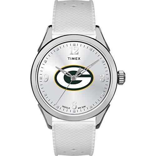 タイメックス 腕時計 レディース 【送料無料】Timex Women's TWZFPACWB NFL Athena Green Bay Packers Watchタイメックス 腕時計 レディース