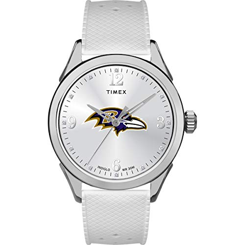 タイメックス 腕時計 レディース 【送料無料】Timex Women's TWZFRAVWB NFL Athena Baltimore Ravens Watchタイメックス 腕時計 レディース