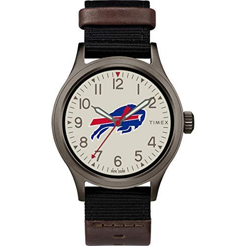 タイメックス 腕時計 メンズ 【送料無料】Timex Men's TWZFBILMB NFL Clutch Buffalo Bills Watchタイメックス 腕時計 メンズ