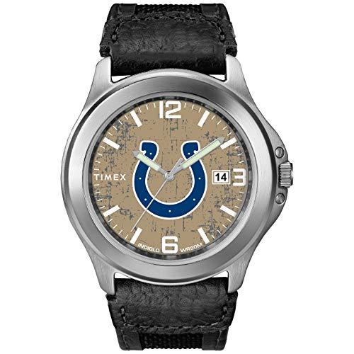 タイメックス 腕時計 メンズ 【送料無料】Timex Men's TWZFCOLMC NFL Old School Indianapolis Colts Watchタイメックス 腕時計 メンズ