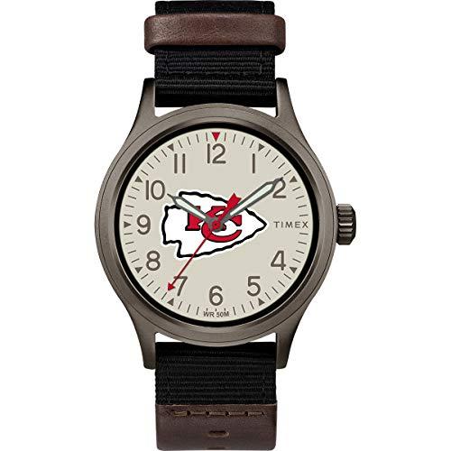 タイメックス 腕時計 メンズ 【送料無料】Timex Men's TWZFCHIMB NFL Clutch Kansas City Chiefs Watchタイメックス 腕時計 メンズ