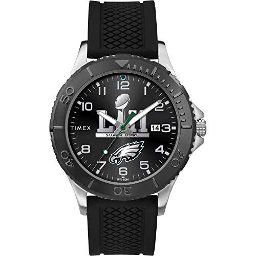 腕時計 タイメックス メンズ 【送料無料】Timex Men's TW5M22000 NFL Gamer Super Bowl 2018 Philadelphia Eagles Watch腕時計 タイメックス メンズ