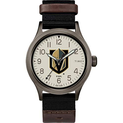 タイメックス 腕時計 メンズ 【送料無料】Timex Men's TWZHKNIMB NHL Clutch Vegas Golden Knights Watchタイメックス 腕時計 メンズ
