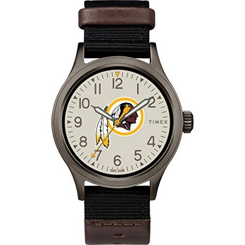 タイメックス 腕時計 メンズ 【送料無料】Timex Men's TWZFREDMB NFL Clutch Washington Redskins Watchタイメックス 腕時計 メンズ