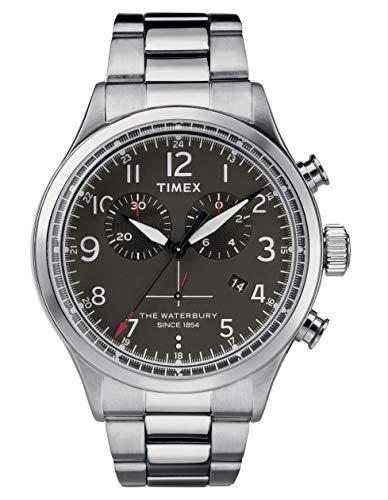 タイメックス 腕時計 メンズ 【送料無料】Timex Mens Chronograph Quartz Watch with Stainless Steel Strap TW2R38400タイメックス 腕時計 メンズ