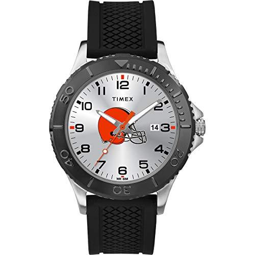 タイメックス 腕時計 メンズ 【送料無料】Timex Men's TWZFBRWMD NFL Gamer Cleveland Browns Watchタイメックス 腕時計 メンズ