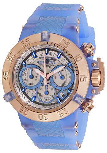 インヴィクタ インビクタ 腕時計 レディース 【送料無料】Invicta Women's Subaqua Stainless Steel Quartz Watch with Silicone Strap, Light Blue, 24.5 (Model: 30306)インヴィクタ インビクタ 腕時計 レディース