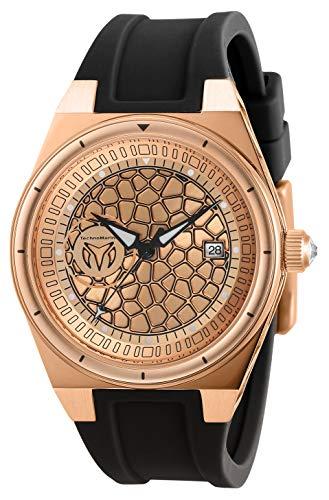 テクノマリーン 腕時計 レディース 【送料無料】Technomarine Women's Technocell Stainless Steel Quartz Watch with Silicone Strap, Black, 22 (Model: TM-318082)テクノマリーン 腕時計 レディース