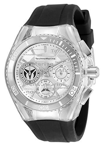 テクノマリーン 腕時計 レディース 【送料無料】Technomarine Women's Cruise California Stainless Steel Quartz Watch with Silicone Strap, Black, 26.25 (Model: TM-118131)テクノマリーン 腕時計 レディース