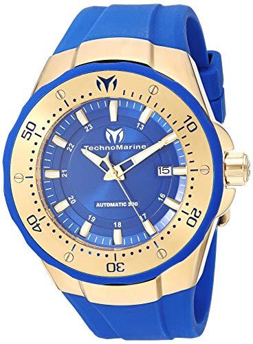 テクノマリーン 腕時計 レディース 【送料無料】Technomarine Women's TM-215085 Manta Analog Display Automatic Self Wind Blue Watchテクノマリーン 腕時計 レディース