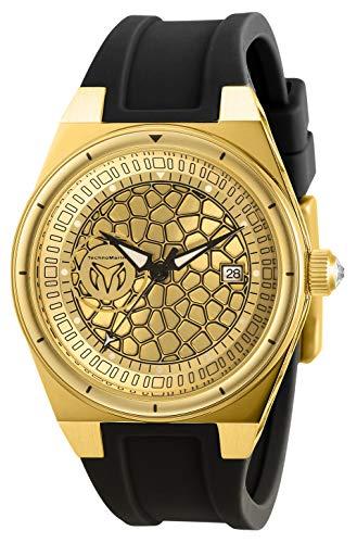 テクノマリーン 腕時計 レディース 【送料無料】Technomarine Women's Technocell Stainless Steel Quartz Watch with Silicone Strap, Black, 22 (Model: TM-318078)テクノマリーン 腕時計 レディース