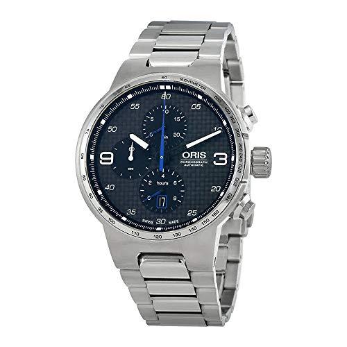 オリス 腕時計 メンズ 【送料無料】Oris Williams Chronograph Stainless Steel 44mm Men's Watch 77477174164MBオリス 腕時計 メンズ