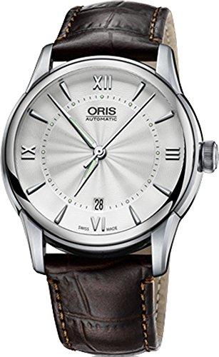 オリス 腕時計 メンズ 【送料無料】Oris Artelier Date 73376704071LSオリス 腕時計 メンズ
