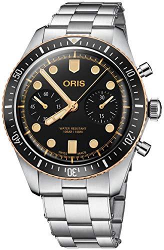 オリス 腕時計 メンズ 【送料無料】Oris Divers Sixty-Five Chronograph 43mm Mens Watchオリス 腕時計 メンズ