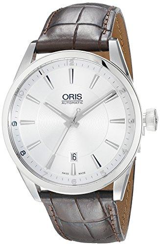 オリス 腕時計 メンズ 【送料無料】Oris Men's 73376424031LS Artix Analog Display Swiss Automatic Brown Watchオリス 腕時計 メンズ