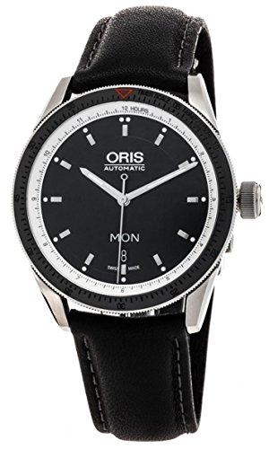 オリス 腕時計 メンズ 【送料無料】Oris Artix GT Day Date Automatic Black Dial Stainless Steel Mens Watch 735-7662-4154LSオリス 腕時計 メンズ