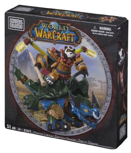 メガブロック メガコンストラックス 組み立て 知育玩具 【送料無料】Mega Bloks World of Warcraft Dragon Turtle and Windpawメガブロック メガコンストラックス 組み立て 知育玩具