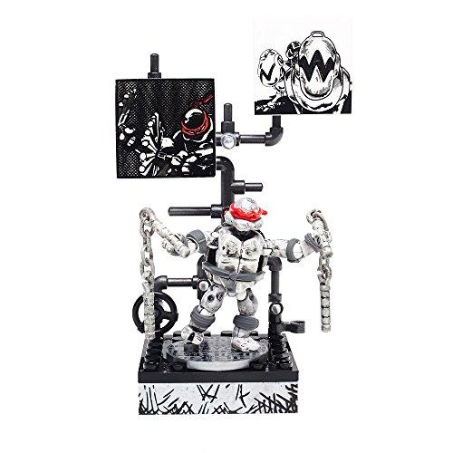 メガブロック メガコンストラックス 組み立て 知育玩具 Mega Bloks Teenage Mutant Ninja Turtles - Michelangelo Eastman and Laird Collector's Figureメガブロック メガコンストラックス 組み立て 知育玩具
