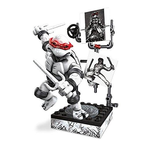 メガブロック メガコンストラックス 組み立て 知育玩具 【送料無料】Mega Bloks Teenage Mutant Ninja Turtles - Raphael Eastman & Laird Collector's Figure by Mega Brandsメガブロック メガコンストラックス 組み立て 知育玩具