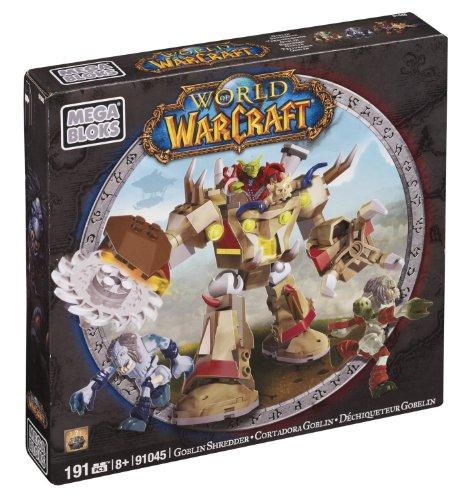 メガブロック メガコンストラックス 組み立て 知育玩具 【送料無料】Mega Bloks World of Warcraft - Goblin Shredderメガブロック メガコンストラックス 組み立て 知育玩具