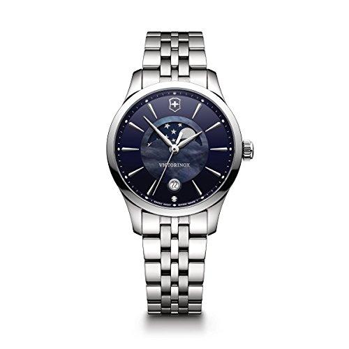 ビクトリノックス スイス 腕時計 レディース,ウィメンズ 【送料無料】Victorinox Women's Alliance Swiss-Quartz Watch with Stainless-Steel Strap, Silver, 17 (Model: 241752)ビクトリノックス スイス 腕時計 レディース,ウィメンズ