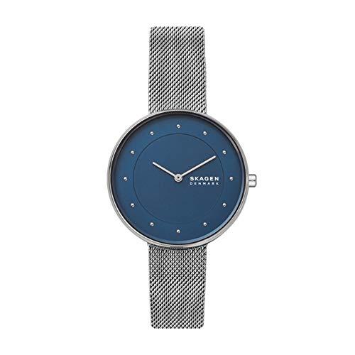 スカーゲン 腕時計 レディース 【送料無料】Skagen Women's Gitte Quartz Stainless Steel Watch,Color: Silver, 14 (Model: SKW2809)スカーゲン 腕時計 レディース