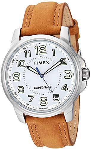 タイメックス 腕時計 メンズ 【送料無料】Timex Men's TW4B16400 Expedition Field Tan/White Leather Strap Watchタイメックス 腕時計 メンズ