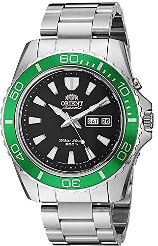 オリエント 腕時計 メンズ 【送料無料】Orient Men's Mako XL Japanese-Automatic Watch with Stainless-Steel Strap, Silver, 22 (Model: FEM75003B9)オリエント 腕時計 メンズ