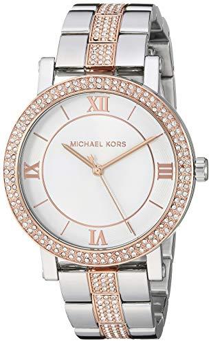 """マイケルコース 腕時計 レディース マイケル・コース アメリカ直輸入 【送料無料】Michael Kors Women""""s Norie Quartz Watch with Stainless Steel Strap, Two Tone, 18 (Model: MK4406)マイケルコース 腕時計 レディース マイケル・コース アメリカ直輸入"""