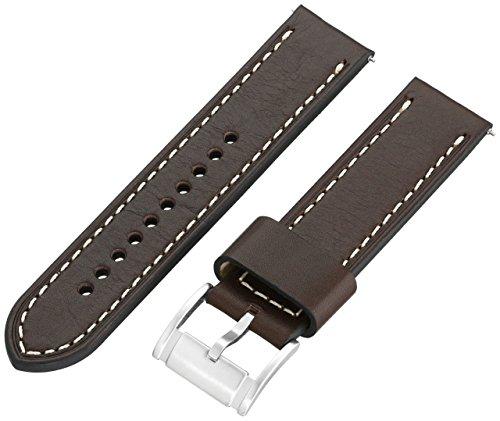 フォッシル 腕時計 メンズ 【送料無料】Fossil 22mm Leather Watch Band Color: Brown (Model S221242)フォッシル 腕時計 メンズ
