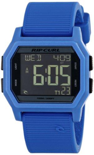 リップカール 腕時計 メンズ サーファー サーフィン 【送料無料】Rip Curl Unisex A2701 Atom Sport Watch with Blue Bandリップカール 腕時計 メンズ サーファー サーフィン