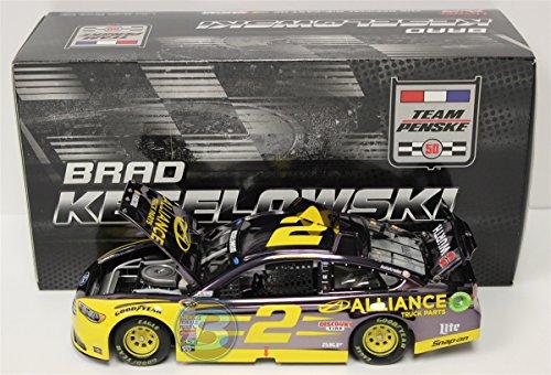 ライオネルレーシング ミニカー 模型 アメリカ 【送料無料】Lionel Racing Brad Keselowski #2 Alliance Truck Parts 2016 Ford Fusion NASCAR Color Chrome 1:24 Diecast Carライオネルレーシング ミニカー 模型 アメリカ
