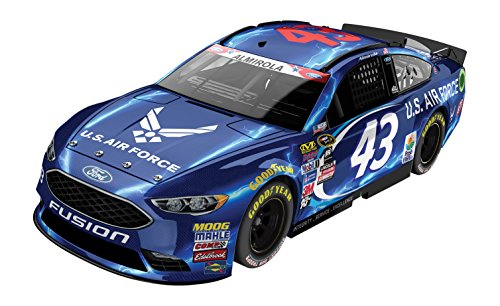 ライオネルレーシング ミニカー 模型 アメリカ 【送料無料】Lionel Racing Aric Almirola #43 Air Force 2016 Ford Fusion NASCAR 1:24 Scale Diecast Carライオネルレーシング ミニカー 模型 アメリカ