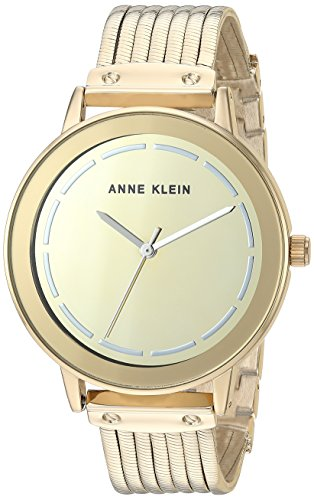 腕時計 アンクライン レディース 【送料無料】Anne Klein Women's Gold-Tone Chain Bracelet Watch腕時計 アンクライン レディース