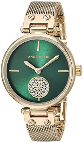 アンクライン 腕時計 レディース Anne Klein Women's Quartz Metal and Stainless Steel Dress Watch, Color:Gold-Tonedアンクライン 腕時計 レディース