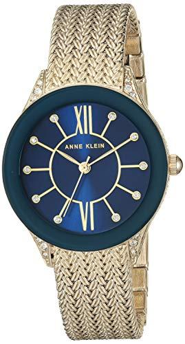 アンクライン 腕時計 レディース 【送料無料】Anne Klein Dress Watch (Model: AK/2208NVGB)アンクライン 腕時計 レディース