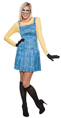 コスプレ衣装 コスチューム ミニオンズ 【送料無料】Rubie's Women's Minion Outfit Movie Theme Fancy Dress Halloween Funny Costume, L (12-14)コスプレ衣装 コスチューム ミニオンズ