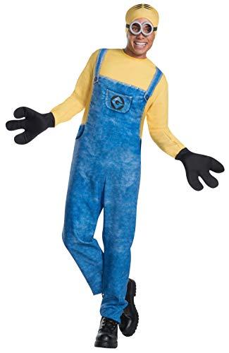コスプレ衣装 コスチューム ミニオンズ 【送料無料】Rubie's Men's Despicable Me 3 Movie Minion Costume, Dave, Extra-Largeコスプレ衣装 コスチューム ミニオンズ