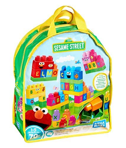 メガブロック メガコンストラックス 組み立て 知育玩具 Mega Bloks Lets Build Sesame Street Buildable Playsetメガブロック メガコンストラックス 組み立て 知育玩具