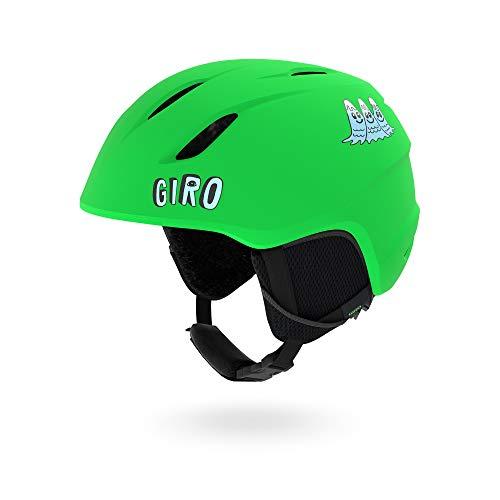 スノーボード ウィンタースポーツ 海外モデル ヨーロッパモデル アメリカモデル 【送料無料】Giro Launch Kids Snow Helmet Matte Black/Bright Green Alien XS 48.5?52cmスノーボード ウィンタースポーツ 海外モデル ヨーロッパモデル アメリカモデル
