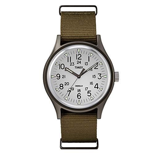 腕時計 タイメックス メンズ 【送料無料】Timex MK1 Aluminum 3-Hand Olive/Silver One Size腕時計 タイメックス メンズ