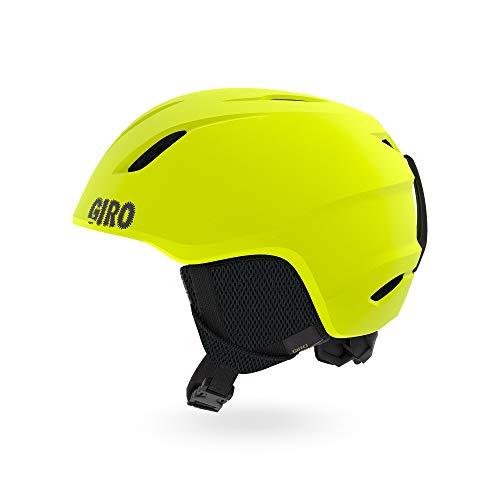スノーボード ウィンタースポーツ 海外モデル ヨーロッパモデル アメリカモデル 【送料無料】Giro Launch Youth Snow Helmet - Matte Citron - Size XS (48.5-52cm)スノーボード ウィンタースポーツ 海外モデル ヨーロッパモデル アメリカモデル