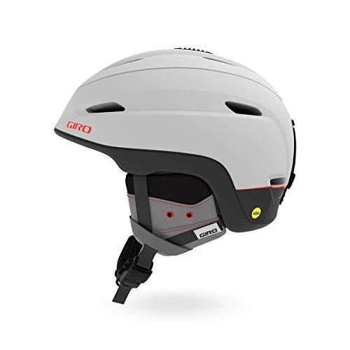スノーボード ウィンタースポーツ 海外モデル ヨーロッパモデル アメリカモデル 【送料無料】Giro Zone MIPS Snow Helmet Matte Light Grey/Vermillion LG 59?62.5cmスノーボード ウィンタースポーツ 海外モデル ヨーロッパモデル アメリカモデル