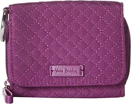 ヴェラブラッドリー パスケース IDケース 定期入れ ベラブラッドリー 【送料無料】Vera Bradley Iconic RFID Card Case Gloxinia Purple One Sizeヴェラブラッドリー パスケース IDケース 定期入れ ベラブラッドリー