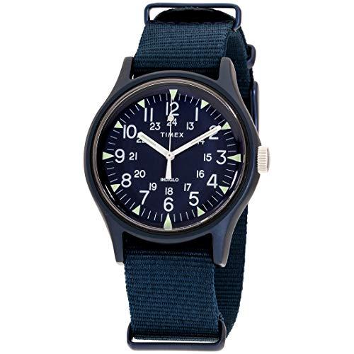 タイメックス 腕時計 メンズ 【送料無料】Timex MK1 Aluminum Quartz Movement Blue Dial Men's Watch TW2R37300タイメックス 腕時計 メンズ