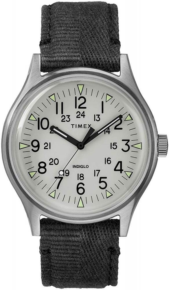 腕時計 タイメックス メンズ 【送料無料】Men's MK1 Steel 40mm Watch, Stainless-Steel/Black/Gray (TW2R68300VQ), One Size腕時計 タイメックス メンズ